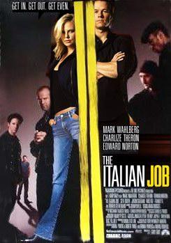 หนังฝรั่งThe Italian Job ปล้นซ้อนปล้น พลิกถนนล่า/หนังแอคชั่น+จารกรรม