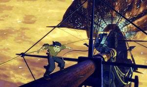 Treasure Planet - ผจญภัยขุมทรัพย์ดาวมฤตยู /หนังการ์ตูน