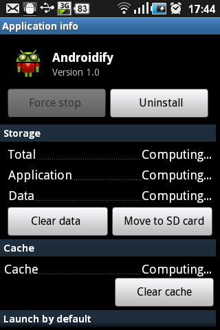 App2SD Android